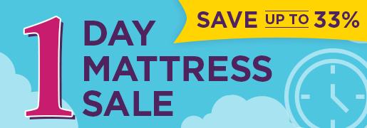 One Day Mattress Sale