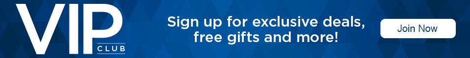 Sign up for exclusive deals, free gifts and more!