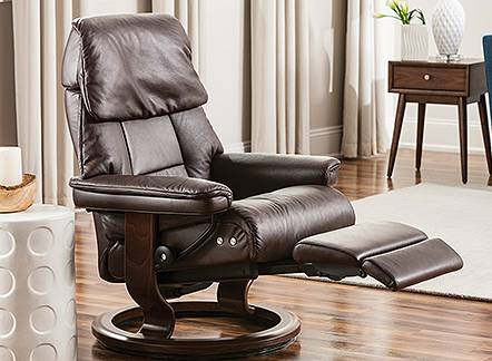 Save $100 off $1000 or Save $300 on Stressless Dover pieces in Paloma leather. Now through August 5.