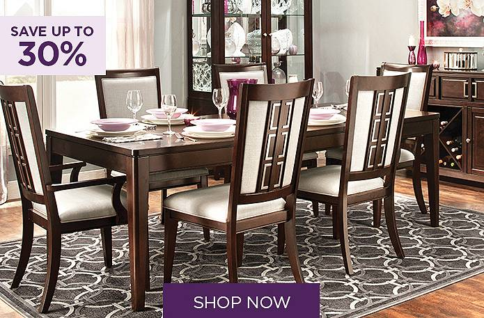 Save up to 30% on dining sets