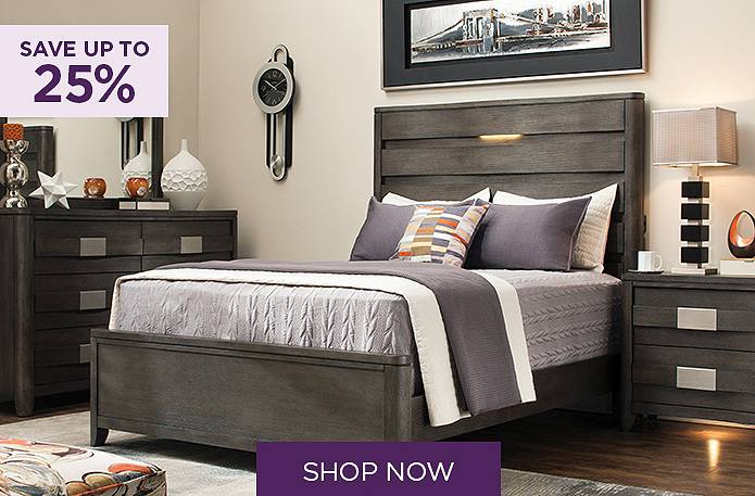 Save up to 25% on 4-pc. queen bedroom sets