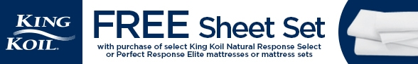 King Koil Free Sheet Set