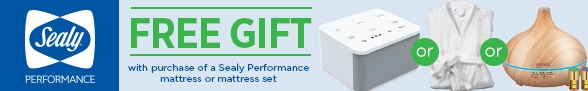 Sealy Performance Free Gift