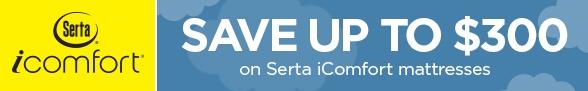 Save $300 on Serta iComfort
