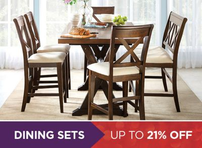 Dining Sets Up To 21% Off