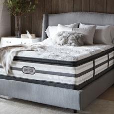 Free Box Spring - with Beautyrest Platinum mattress