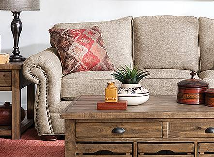 Save up to 25% on sofas.