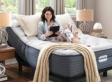 Free adjustable base with purchase of regularly priced mattress of $999 or more.