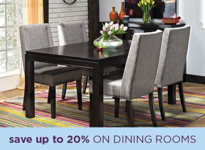 Save Up To 20% On Dining Rooms. Sale By Category