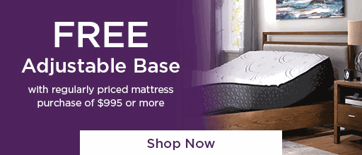 Free Adjustable Base - Shop Now