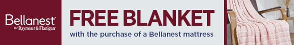 Free Blanket with Bellanest Mattresses Purchase