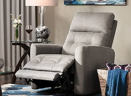Save up to 23% on recliners and accent chairs