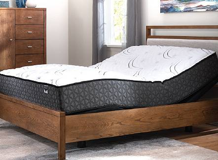 Free adjustable base with purchase of a regularly priced mattress of $995 or more