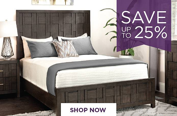 Save up to 25% on Bedrooms. Shop Now
