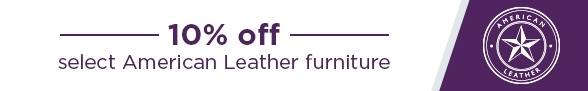 10% off American Leather Furniture