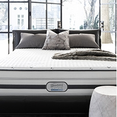 Free Box Spring - with Beautyrest Platinum <br> with mattress purchase