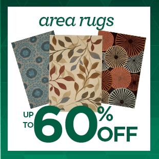 Up to 60% Off Area Rugs