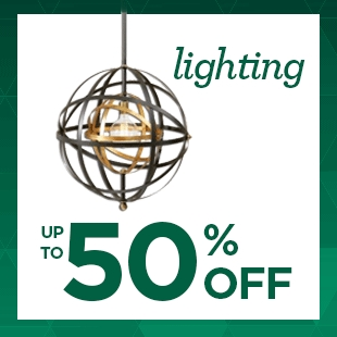 50% Off Select Hanging Lights