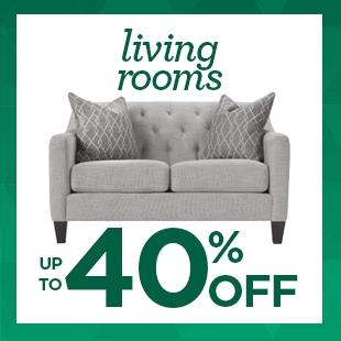 Up to 40% Off Living Rooms