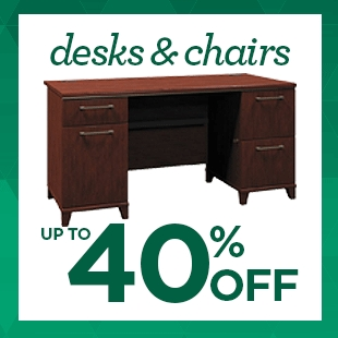 Up to 40% Off Office Desks & Chairs