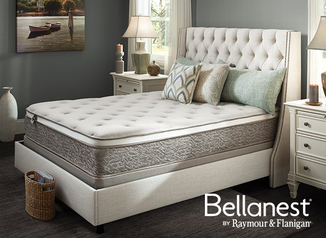 Buy Bellanest and receive a free box spring