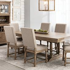 Guaranteed Christmas Delivery Save up to 20% Dining Rooms