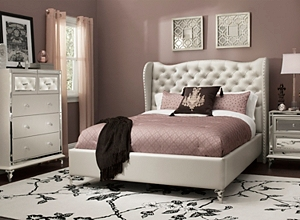 homelegance set collection bedroom nightstand bling alonza