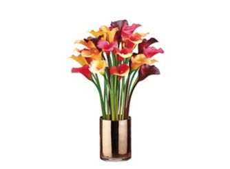 Allstate floral raymour flanigan best sellers from allstate floral calla lilies in gold vase mightylinksfo