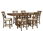 Montana 7-pc. Counter-Height Dining Set w/ Leaves