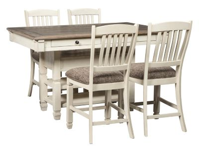 Aspen 5 Pc Counter Height Dining Set Raymour Flanigan