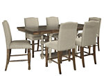 Lettner 7-pc. Counter Height Dining Set
