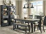 Vail 6-pc. Dining Set w/ Bench