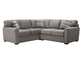 Artemis II 3-pc Microfiber Sectional Sofa