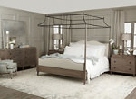 Auberge 3-pc. King Canopy Bedroom Set