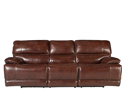 Wallace Leather Reclining Sofa