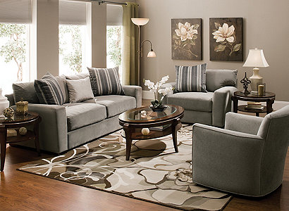 Carlin Contemporary Living Room Collection | Design Tips U0026 Ideas | Raymour  And Flanigan Furniture