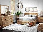 Playa 4-pc. King Platform Bedroom Set w/ Stroage Bed