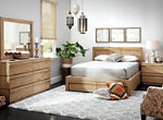 Playa 4-pc. Queen Platform Bedroom Set w/ Storage Bed