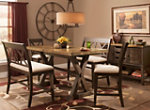Wexford 5-pc. Counter-Height Dining Set w/ 2 Benches