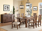 Middlefield 7-pc. Dining Set w/ Upholstered Chairs