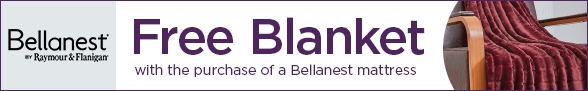 Free Weighted Blanket with Purchase of a Bellanest Mattress or Mattress Set
