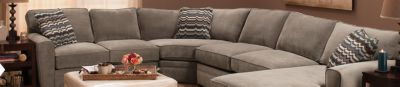 Sectional Sofas Modular Sofa Leather Microfiber Chenille