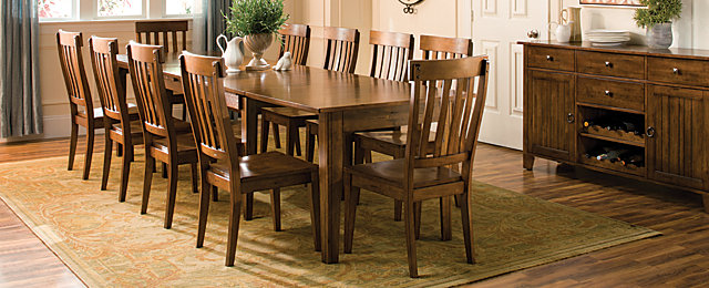 Barrington Transitional Dining Collection