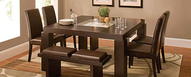 Cortland Place Contemporary Dining Collection | Design Tips U0026 Ideas |  Raymour And Flanigan Furniture