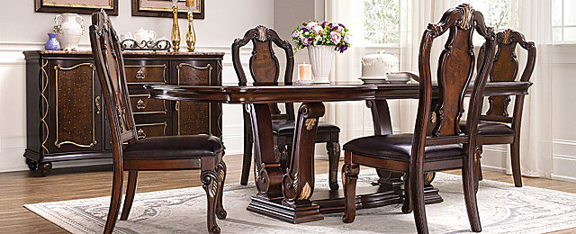 palazzo traditional dining collection design tips u0026 ideas raymour and flanigan furniture