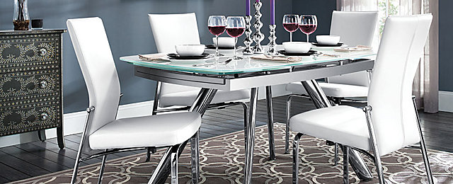 Paloma Contemporary Dining Collection | Design Tips U0026 Ideas | Raymour And Flanigan  Furniture
