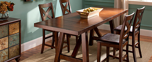 Royce Casual Dining Collection | Design Tips & Ideas | Raymour and ...