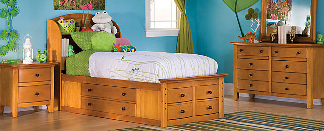 Anderson Transitional Kids Bedroom Collection | Design Tips ...