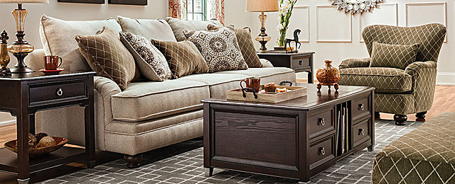 Claudella Transitional Living Room Collection