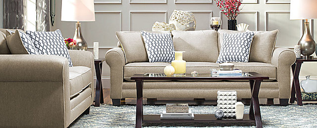 Superb Cordelia Transitional Living Room Collection